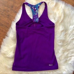 The North Face Purple Workout Tank Top